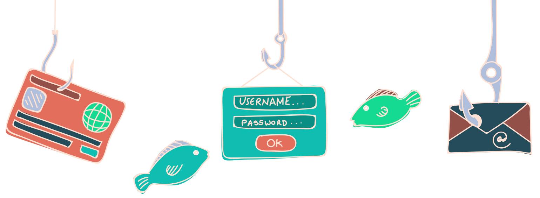Online Phishing Illustration